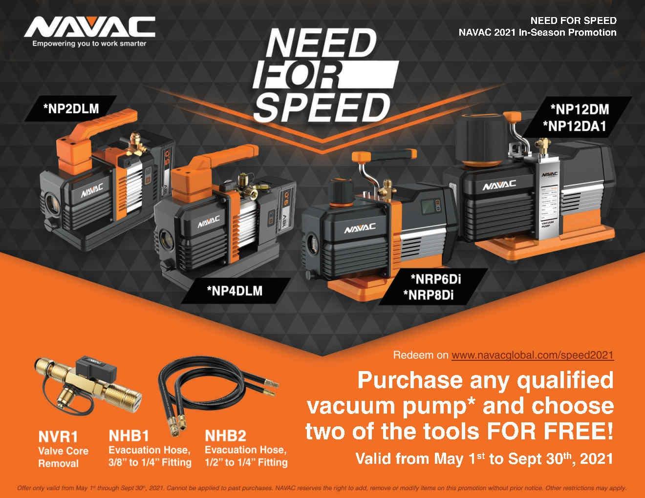 Navac Vacuun Pumps